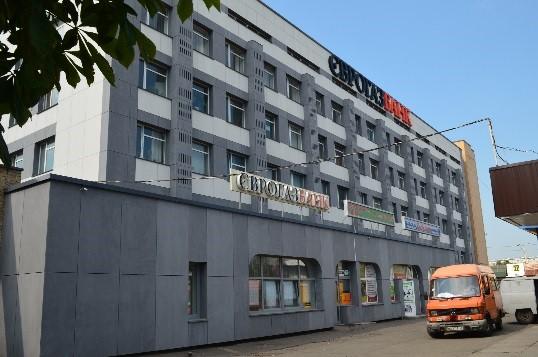 Нежитлове приміщення, що належить АТ «ЄВРОГАЗБАНК», площею 70,20 кв. м, за адресою: м. Київ, проспект С. Бандери, буд. 16